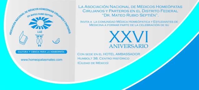 XXVI Aniversario de la Asociación