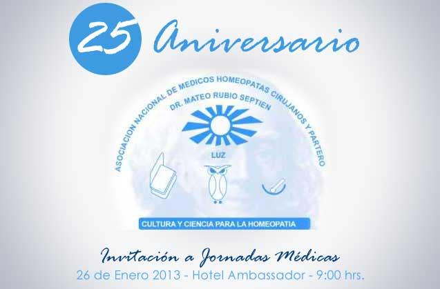XXV Aniversario de la Asociación